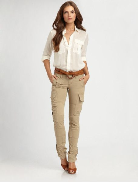 tapered cargo pants for women - Google Search