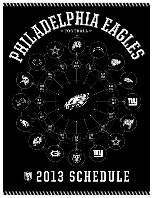 Philadelphia Eagles 2013 Schedule