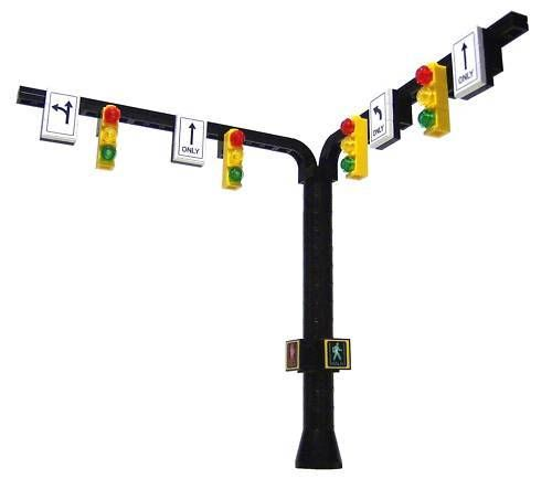 ☆NEW☆ Lego City / Train Town Accessories Traffic Stop Light Signal  #LEGO