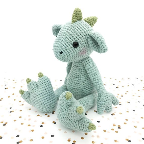 Dragon amigurumi crochet PATTERN crochet cute bat pattern   вязаные ...