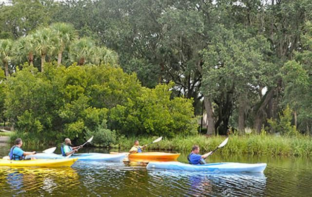 10 Fun Things to Do on Hilton Head Island with Kids: Paddle a kayak or canoe. via @Family_Travel @palmettodunes