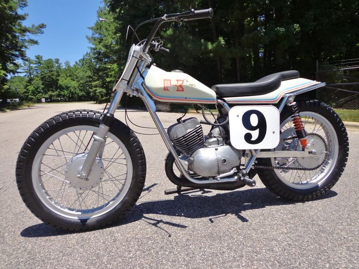 Kawasaki 250 with Champion frame