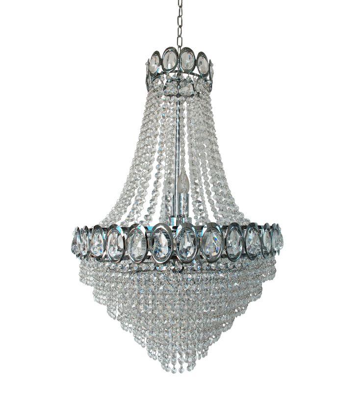 Flaam chandelier  Krystallkrone Lysekrone Lampemagasinet Norway