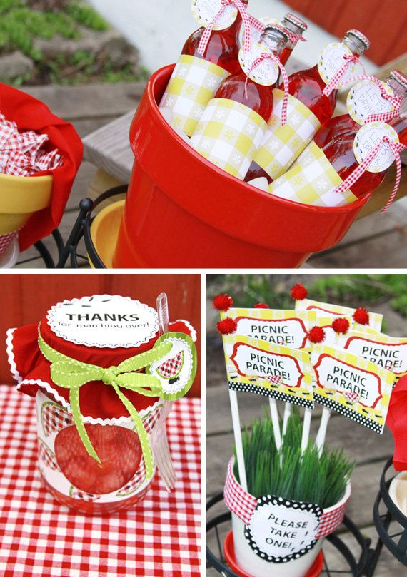 Picnic Theme from the creative orchard via etsy.com
