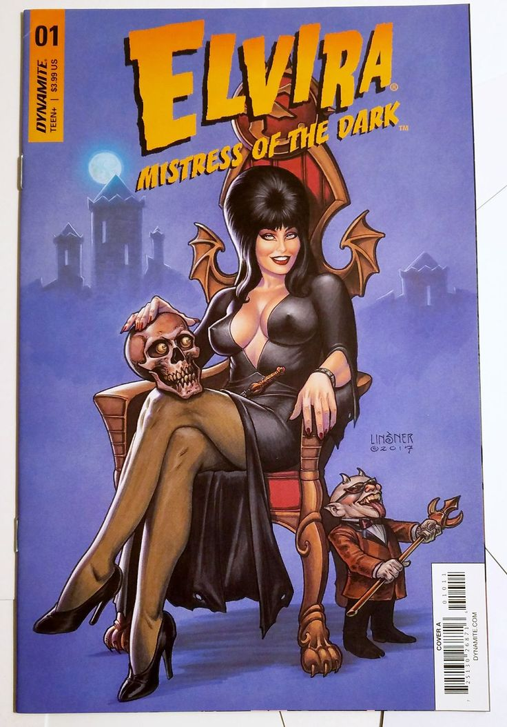 Dynamite comics elvira mistress of the dark 1 w david