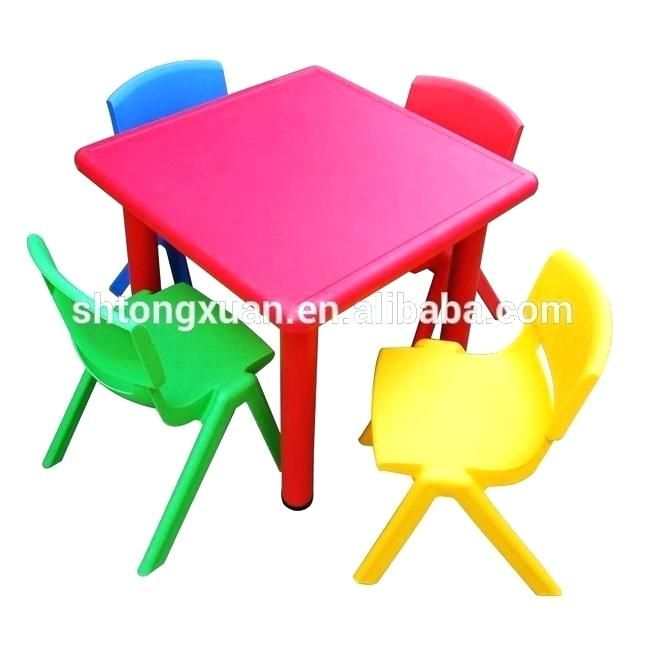 Kids Plastic Table And Chairs Set Childrens Plastic Table Plastic