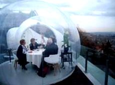Carpa burbuja inflable en alquiler o venta
