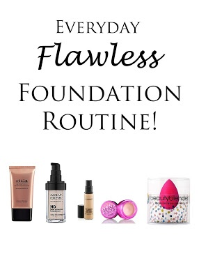 A tutorial on a flawless foundation routine for everyday that will last until the wee hours!
