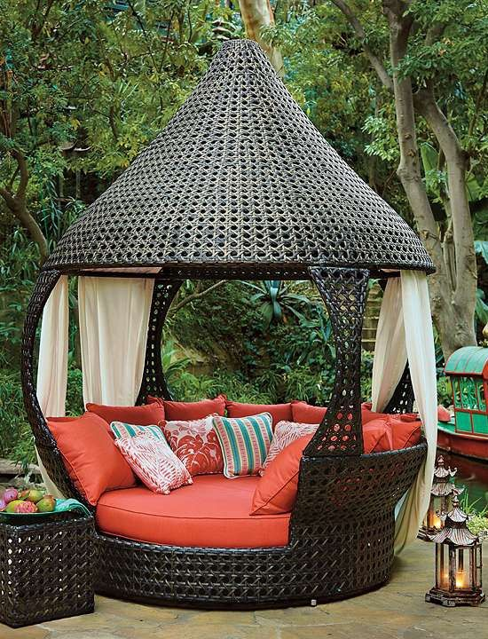quilted hammock outdoor