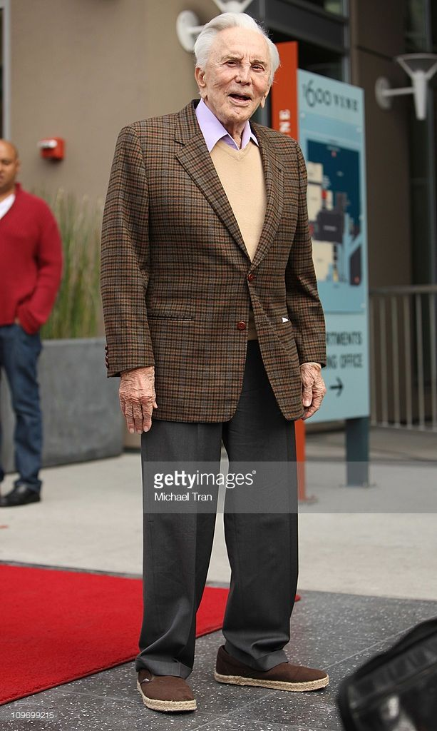 Kirk Douglas attends the ceremony honoring Maestro Zubin Mehta with a Star on the Hollywood Walk of Fame on March 1, 2011 in Hollywood, California.