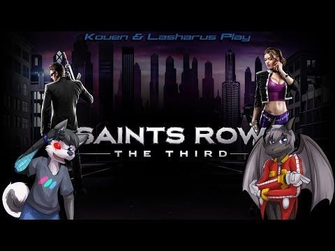 "Kouen & Lasharus Play: Saints Row The Third Ep. 9 ""Strap it on, Genkibow..."