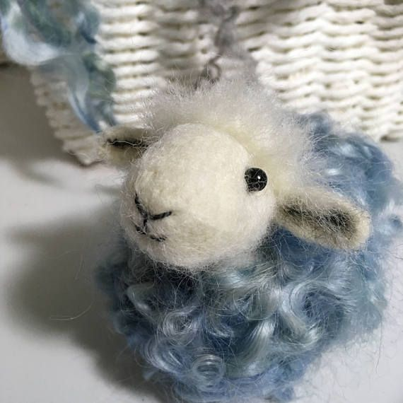 Needle felted Sheep  Herdwick sheep sculpture  gift for
