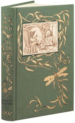 The WIND IN THE WILLOWS by Kenneth Grahame.  Charles van SANDWYK (Artist) makes this the most beautiful edition of this book ever! One of my favorites. Folio Society. See sample illos at site. (I admit there are a lot of great illustrators for this title so it's a close call :-)