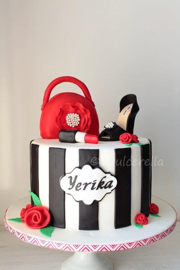 https://flic.kr/p/GbhvSC | Fashionista cake
