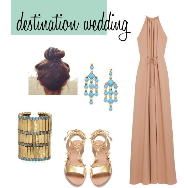 What To Wear A Beach Wedding Created By Charitizzle On Polyvore