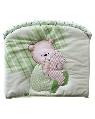 Золотой гусь Мишутка зелёный Золотой Гусь  — 1161р. ------------ Зелёный бампер в кроватку Мишутка Золотой Гусь прекрасно сочетается с бельём Мишутка такого же цвета.