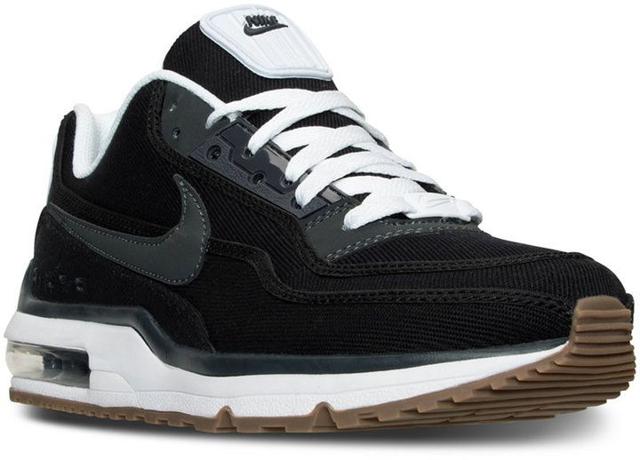 With a fresh new style, but the same soft cushioning, the Men's Nike Air Max LTD 3 TXT Running Sneaker will make you as famous as the original Air Max. OK, maybe not as famous, but stylish nonetheless. Performance running sneakers Max Air cushioning Comfortable leather upper with synthetic overlays and textile PU foam midsole Traction pattern on the sole Style no. 746379 Men's athletic footwear from Finish Line Leather, synthetic and textile upper
