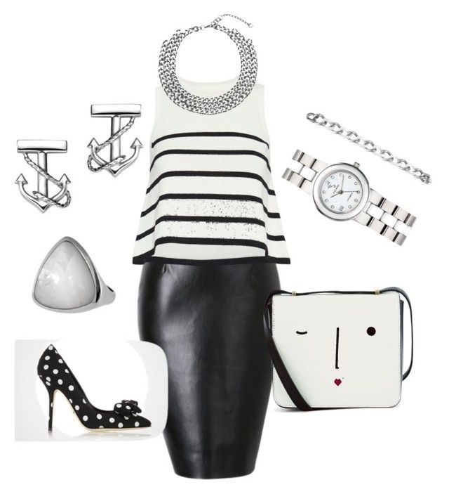 """""""Nautique"""" by judith-veilleux on Polyvore featuring mode, Cardigan et Lulu Guinness"""
