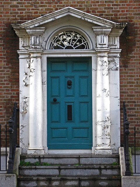 1000 Ideas About Teal Front Doors On Pinterest Front