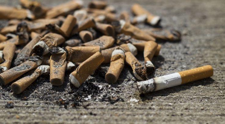 Amenzi pentru fumatorii care arunca mucurile de tigari pe strada