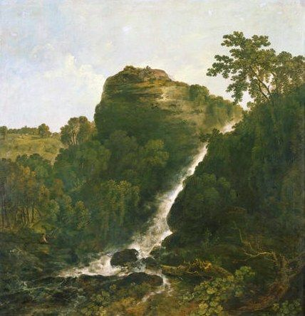 My review of an exhibition about the Welsh-born landscape painter Richard Wilson (1714-82) at the National Museum, Cardiff, is sceptical of the curators' claim that RW's work points towards revolutionary Constable-esque landscape. Here's the one painting that might be taken to support  the idea - Lydford Falls, Tavistock – & it's oddly missing from the show!   http://www.ft.com/cms/s/2/2d544f0a-1322-11e4-8244-00144feabdc0.html#axzz38ktFN2gv