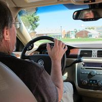Deans' stroke musings: Driving with the affected left arm
