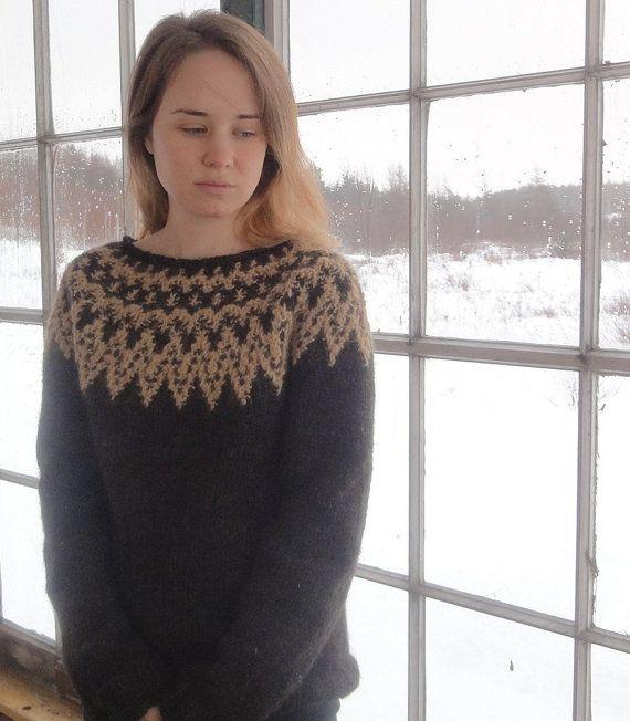 Жаккардовый пуловер Nordica by Amy Gunderson, без текста