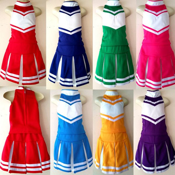 Kostüme für Erwachsene - Cheerleader Damen-Kostüm Fasching Gr.XS,S,M,L - ein Designerstück von Newstar-2555 bei DaWanda