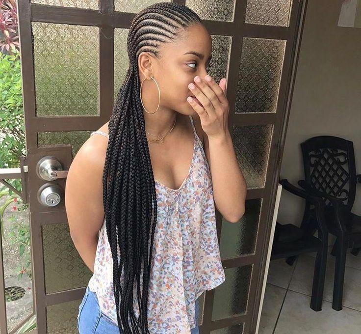 Black Women Curves Images Blackwomencurves Hairstyle Women Pinterest Hair Styles Braided Cornrow Hairstyles Cornrow Hairstyles
