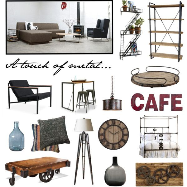 """Industrial Chic"" by smartfurniture on Polyvore"