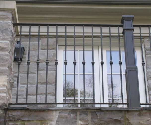 Exterior Iron Railings | Wrought Iron Railings Toronto | European Wrought Iron Works