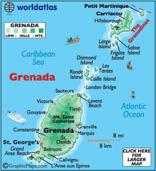 Looking for a great vacation spot with lots to do, Grenada is your spot.