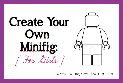 Create Your Own LEGO Minifigures Printables: For Boys &Girls