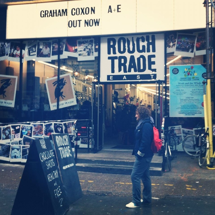 Rough Trade at Bricklane, London