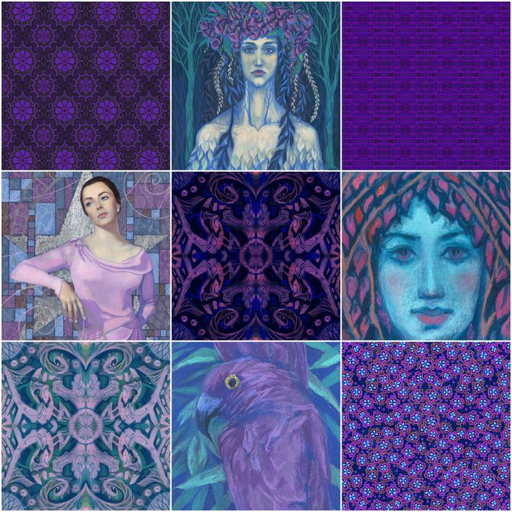 Violet collection on Redbubble - https://www.redbubble.com/people/clipsocallipso/collections/831196-violet Some prints are also available in other stores.  #ultraviolet #colouroftheyear #pantone20018 #pantone #violet #redbubble #clipsocallipso