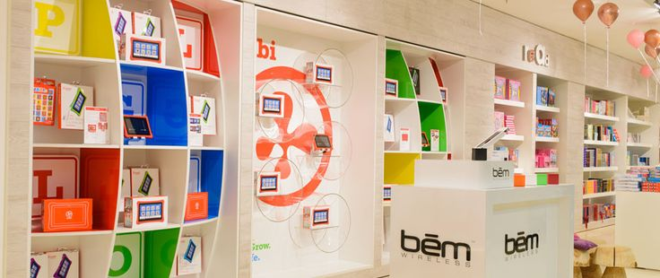 Nabi & bem wireless in-store display @ Selfridges in London by Agent42