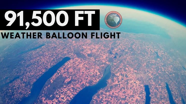 GoPro Weather Balloon to Stratosphere over the Finger Lakes in NY