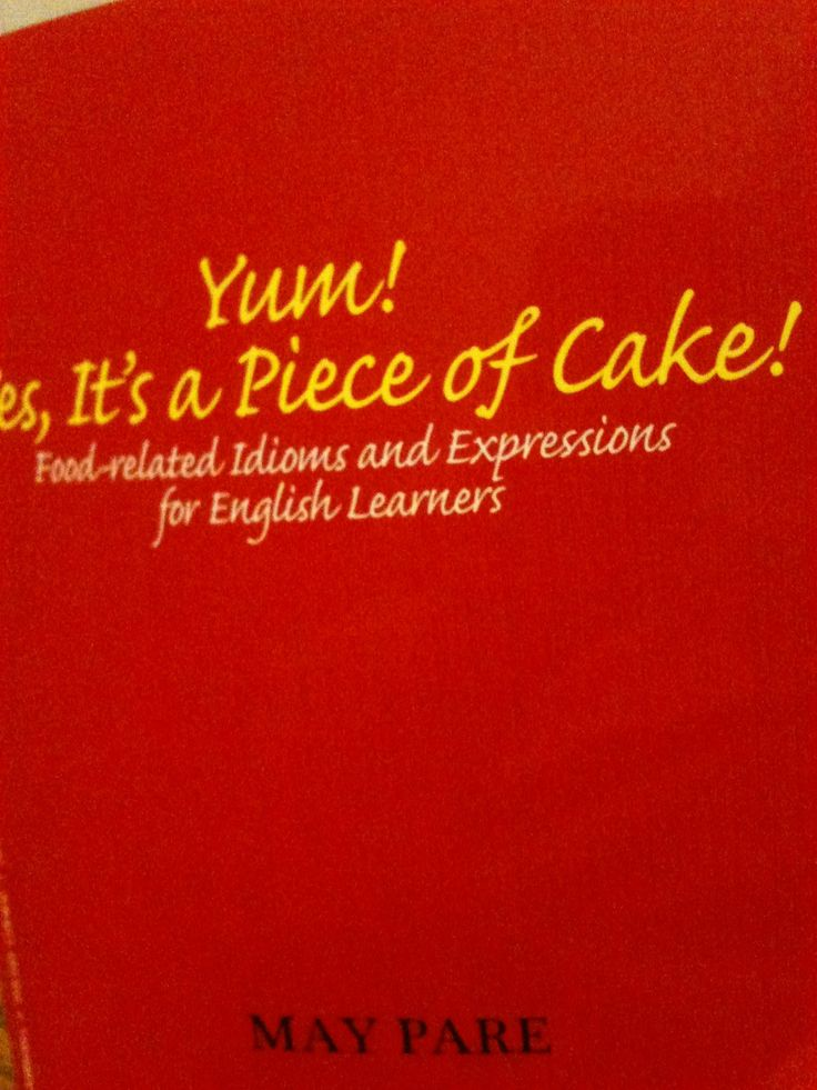 Cake And Pie Idioms