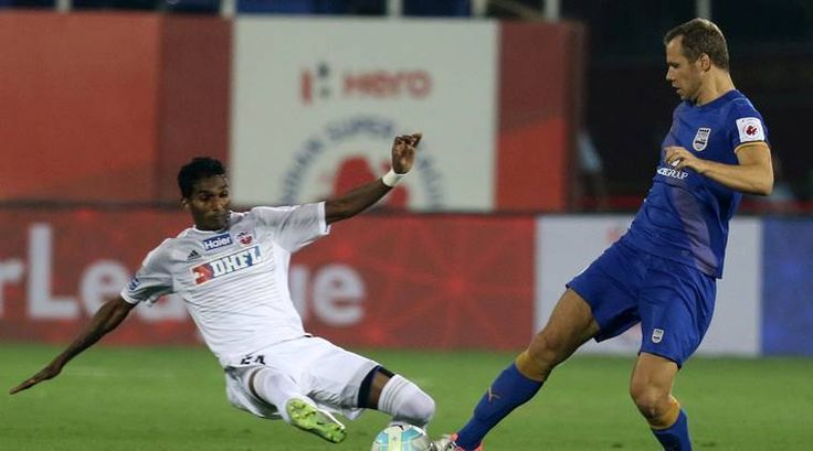 Mumbai City FC vs FC Pune City, live football score, ISL 2016.