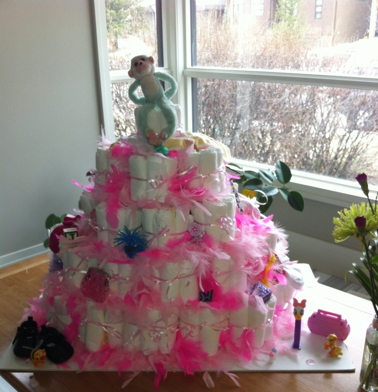 Julia's diaper cake