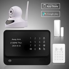 2015 Best Selling DIY Wifi Burglar Alarm System , IOS/ANdroid APP Wireless Intelligent Burglar Alarm System With Ip Cameras. Price:$82 #securitycameras