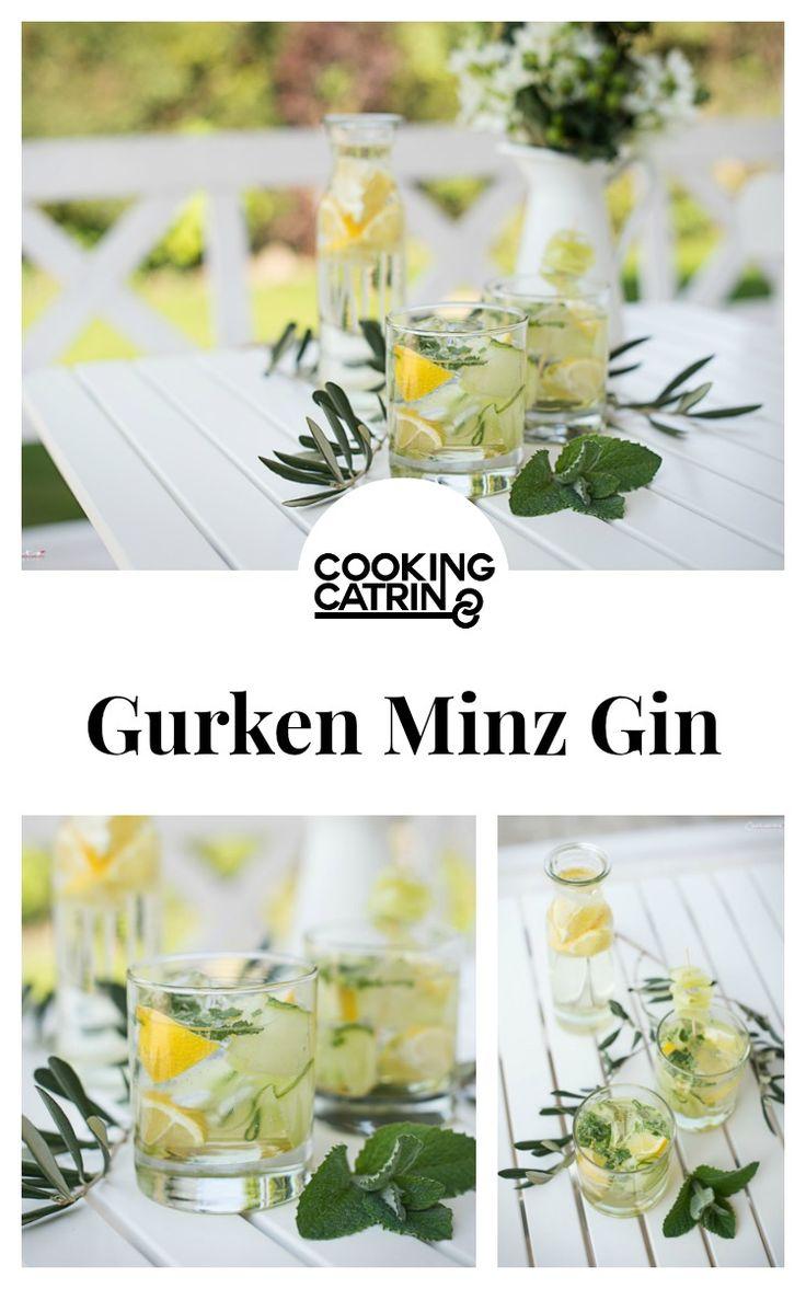 Drinks, Gurken Minz Gin, summerdrink, Gurke, Gin, Getränk
