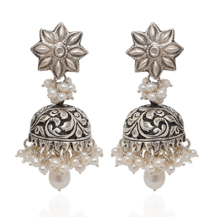 jhumki-Earrings | Rich And Rare That Express The Beauty What She Wore | GRT Jewellers