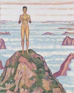"""Ferdinand Hodler, Aleksandr Dejneka und der deutsche Kunststar Neo Rauch in der """"Müde Helden""""-Ausstellung in der Hamburger Kunsthalle. Sehenswert!"""