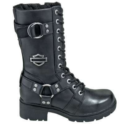 974ec86699a4 Harley Davidson Boots  Women s 83736 9 Inch Eda Motorcycle Boots   harleydavidsonboots