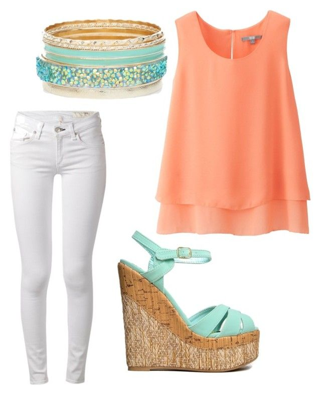 summer/spring by tayken3 on Polyvore featuring polyvore fashion style Uniqlo rag & bone Qupid clothing