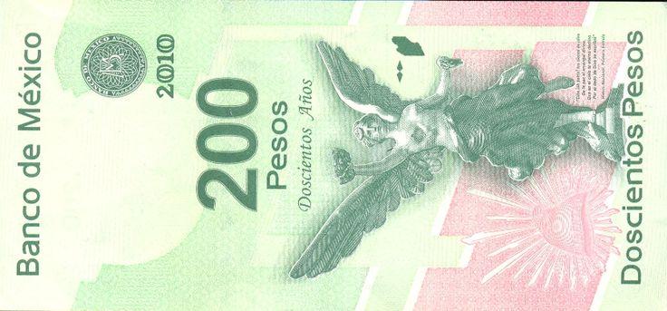 "200 pesos special edition ""Mexican Independence""   Billetes, Monedas, Moneda mexicana"