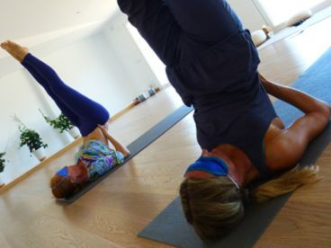 Withdrawal of the Senses: Practicing Yoga Blindfolded. By Saskia Griffiths - this would be neat to try.