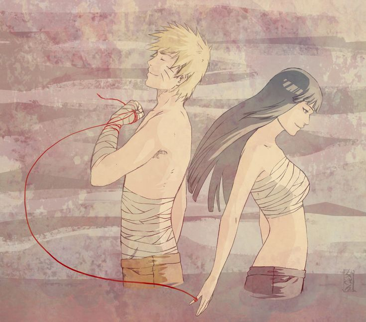 The string of destiny :O, wonder how sakura would feel. #naruhina all the way. #naruto. #hinata