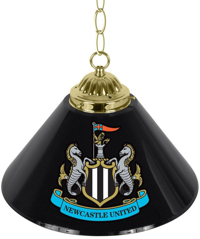 Kohl's Newcastle United FC Single Chrome Bar Lamp